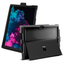 купить For Microsoft Surface Pro 3 4 5 6 Case Shockproof Silicone Protective Rugged Armor Back Cover For Surface Pro 4 Case Pen Holder дешево