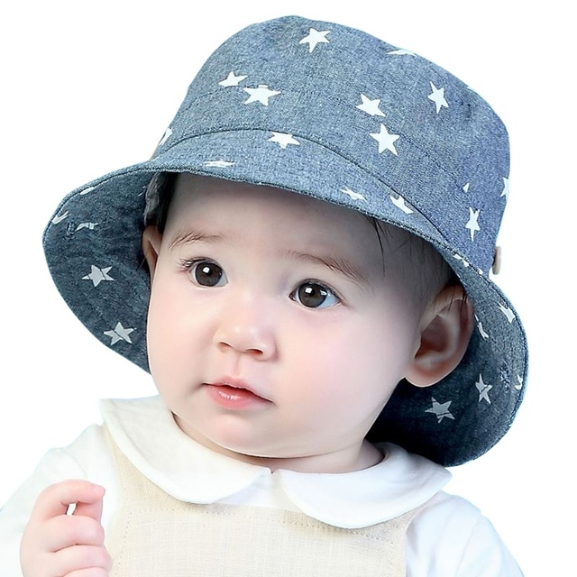 Verano del bebé niños recién nacidos niño niña gorros soft cotton CAPS  infantil Viseras Sol sombrero 3a7dcfccf4fa