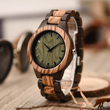 DODO DEER Vintage Green Dial Men Wood Watches Gift For Love Environmental Watch Wooden Custom Logo Drop Shipping A08-7 - discount item  34% OFF Men's Watches