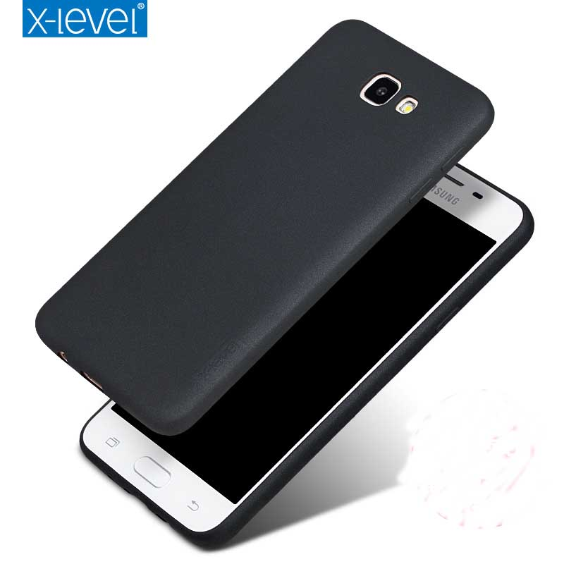 X-Level Guardian Soft Matte TPU Case for Samsung Galaxy J7 Prime G610F/J5 Prime G570F Back Cover for On5 On7 2016 Silicone Case