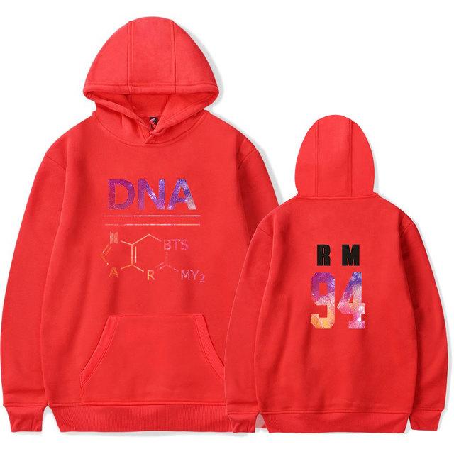 DNA ARMY Hoodies Sweater BTS (Set 1)