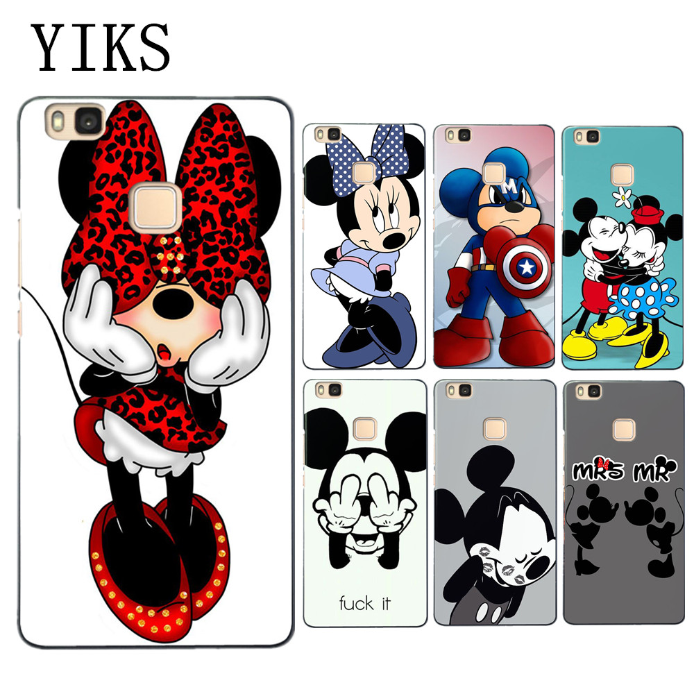 for p10 lite case cute mickey minnie soft tpu cover for. Black Bedroom Furniture Sets. Home Design Ideas