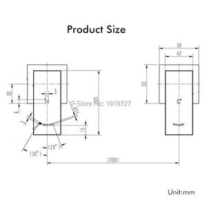 Image 5 - Bañera de estilo cuadrado con marco de agua, mezclador de grifo negro de latón macizo, con caño, conjunto de ducha fría y caliente, 1/4 vueltas, directo de fábrica