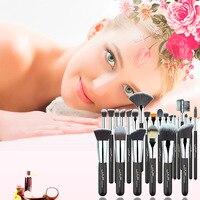 Professional Premium 24 Pcs Makeup Brush Set High Quality Soft Taklon Her Makeup Artist Brush Tool