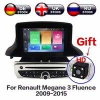 Android 8,1 DVD плеер автомобиля gps навигации головное устройство для Renault Megane 3 Fluence 2009 2010 2011 2012 2013 2014 2015 Бесплатная камера