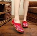 2016 Новая Модель Оригинальность Превышать Мягкий Толстый Нация Ветер Досуг Синглов женские Двойного Назначения Обуви Китайский Стиль