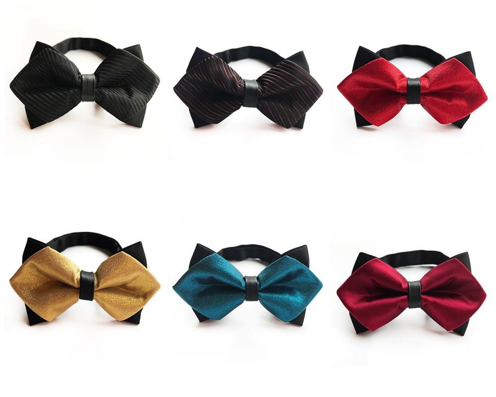 2018 Fashion British Style Men's Business Formal Clothing Decorative Bow Tie Business Dress Unique Design Accessories Bow Tie