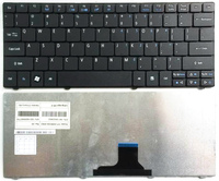 米国ブラック新しい英語acer aspire one 751 za3 752 753 722 721 1410 za3 za5 za8 MS2298 MS2297 MS2296