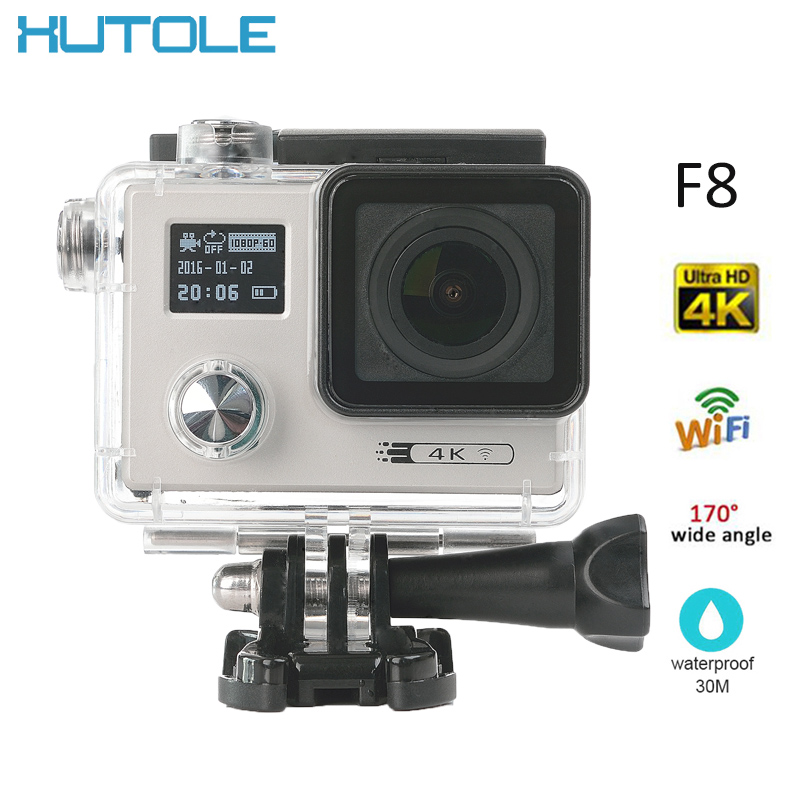 F8 Mini Sport Camera Under Waterproof 30M 4k Full 1080P HD Digital Action Cam Video Recording For Skiing Bicycle Android I Phone