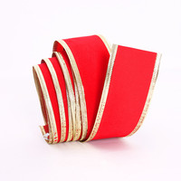 2 50mm RED Organza Ribbons Wholesale Gift Wrapping Decoration Christmas Ribbons