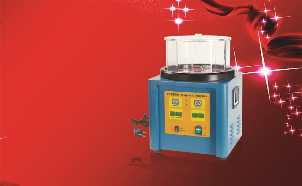 1100g Capacity Jewelry Machine Goldsmith Tools Magnetic Polisher Ring Polishing Machine