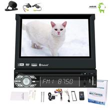 Car DVD Player Android 6.0 1Din Car Stereo 7 inch Screen Auto Radio 1080P Clear Video Player support Wifi wireless Backup Camera