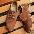 Summer single shoes plus size men 45 suede shoes male casual shoes suede 46 47 48 plus size free shipping