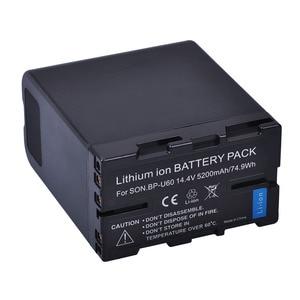 Image 3 - 1Pc 5200Mah BP U60 Bp U60 BPU60 BP U90 Batterij Voor Sony PMW 100 PMW 150 PMW 160 PMW 200 PMW 300 PMW EX1 EX3 EX280 EX260 PHU 60K