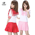 Rolecos fashion-8 colores japonés uniforme japón school dress cosplay anime girl señora lolita linda dress cc122