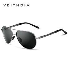 VEITHDIA gafas de Marca gafas de Sol Polarizadas Para Hombres Mujeres UV400 Gafas de Sol gafas de sol Masculinas 1306