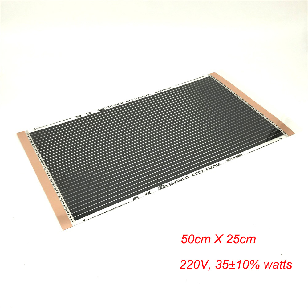 25cm*50cm Dogs And Cats, Small Animals Warm Floor Mat Carbon Fiber Heating Film