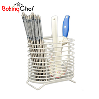 Hanging Drain Tableware Storage Rack Chopsticks Cutlery Holder Container Kitchen Organizer Accessories Supplies Gear Products