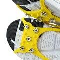 Ao ar livre Rodada Enhanced Edition Anti Derrapante Ice Gripper L Tamanho gelo Crampons Caminhadas Escalada Neve Antiderrapante Sapatos De Gelo Pico