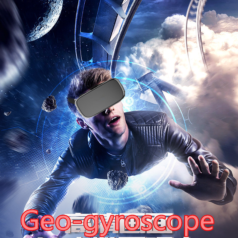 Vr All In One Glasses 3d Headset Android 5.1wifi Quad Core 2/16gb 5.5inch 1920*1080 Rk3288 Wifi Vr Virtual Reality Geo-gyroscope