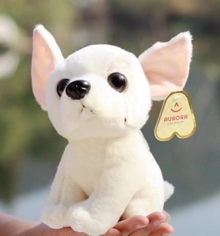 Stuffed Simulation Animal 22cm Chihuahua Plush Toy Simulation Dog