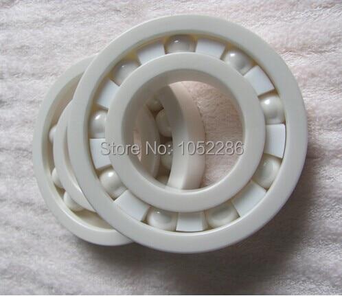 10pcs 6005  full Ceramic bearing  25x47x12 mm Zirconia ZrO2  Ceramic ball bearings  25*47*12