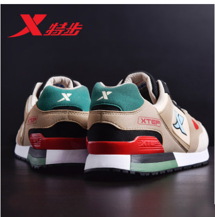 Men's shoes sneakers men's 2018 summer new authentic men's retro breathable lightweight running shoes