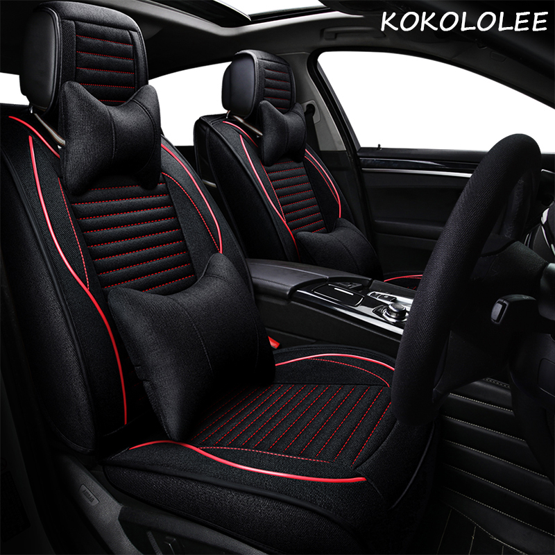 kokololee car seat cover for geely mybo youliou emgrand EC7 three box auto EC7 RV two