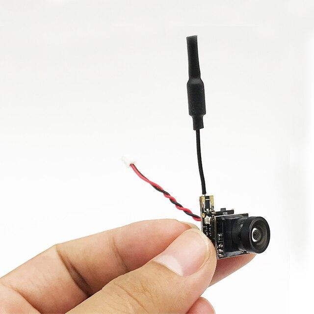 S25 5,8G transmisor de video 800TVL HD Micro CMOS de la Cámara FPV 150 grados de ángulo de visión de 3g ultraligero para Dron de carreras FPV
