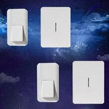 Кинетическая беспроводной подключите дверной звонок, 2 шт., AC 240 В, без батареи, отсутствие проводки, с автономным питанием кнопку, что использование энергии из пальца нажмите