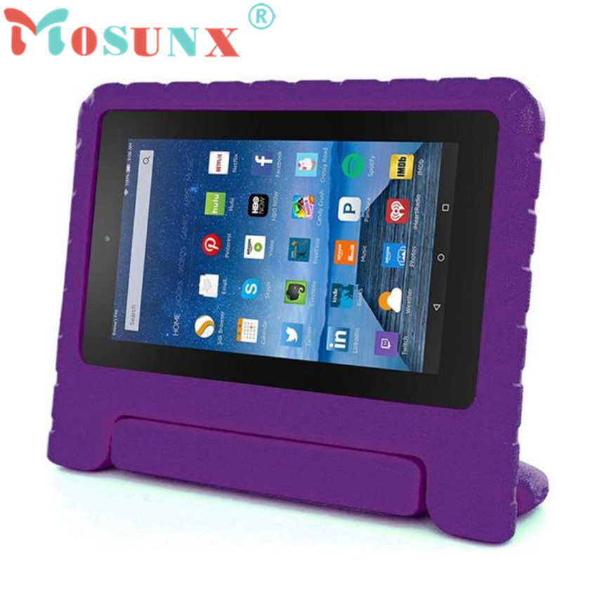 #AE 1PC Kids Shock Proof EVA Handle Case Cover for Amazon Kindle Fire HD 7 2015 Drop Shipping