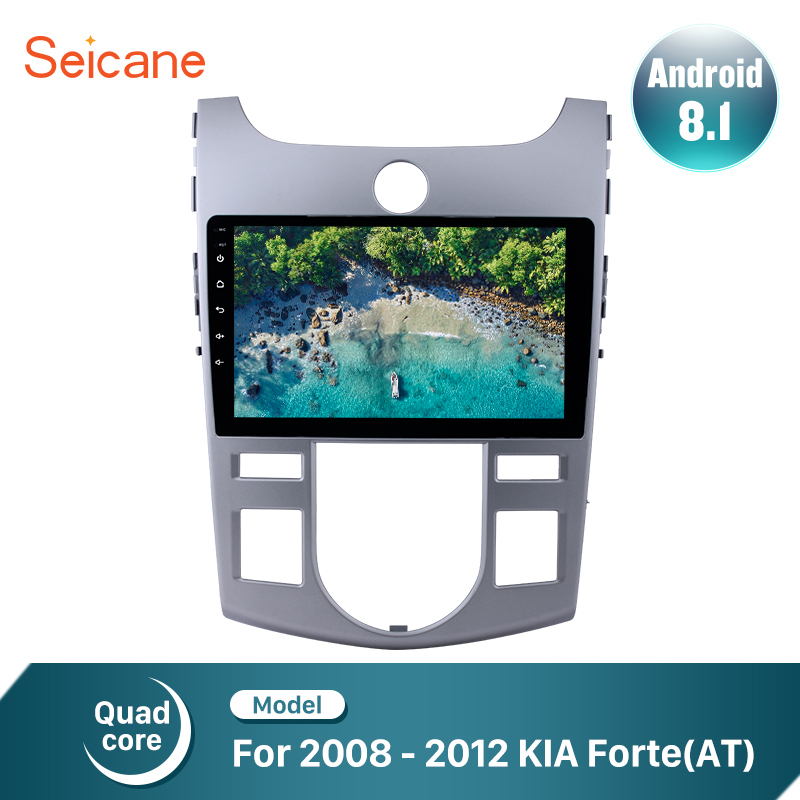 Seicane 9 inch Quad Core Android 8 1 Car Radio Stereo Player GPS Navigation for 2008
