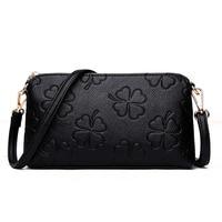 Hot Sale PU Leather Women Party Clutch Handbag Elegant Fashion Messenger Crossbody Multi Purpose Bags For