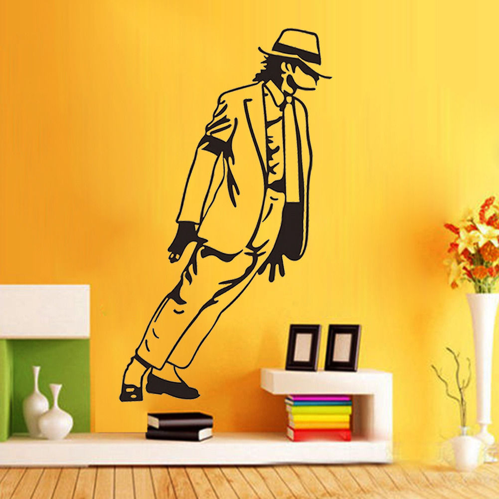 33*54cm Best Selling 2015 Dancing Michael Jackson Wall Stickers ...