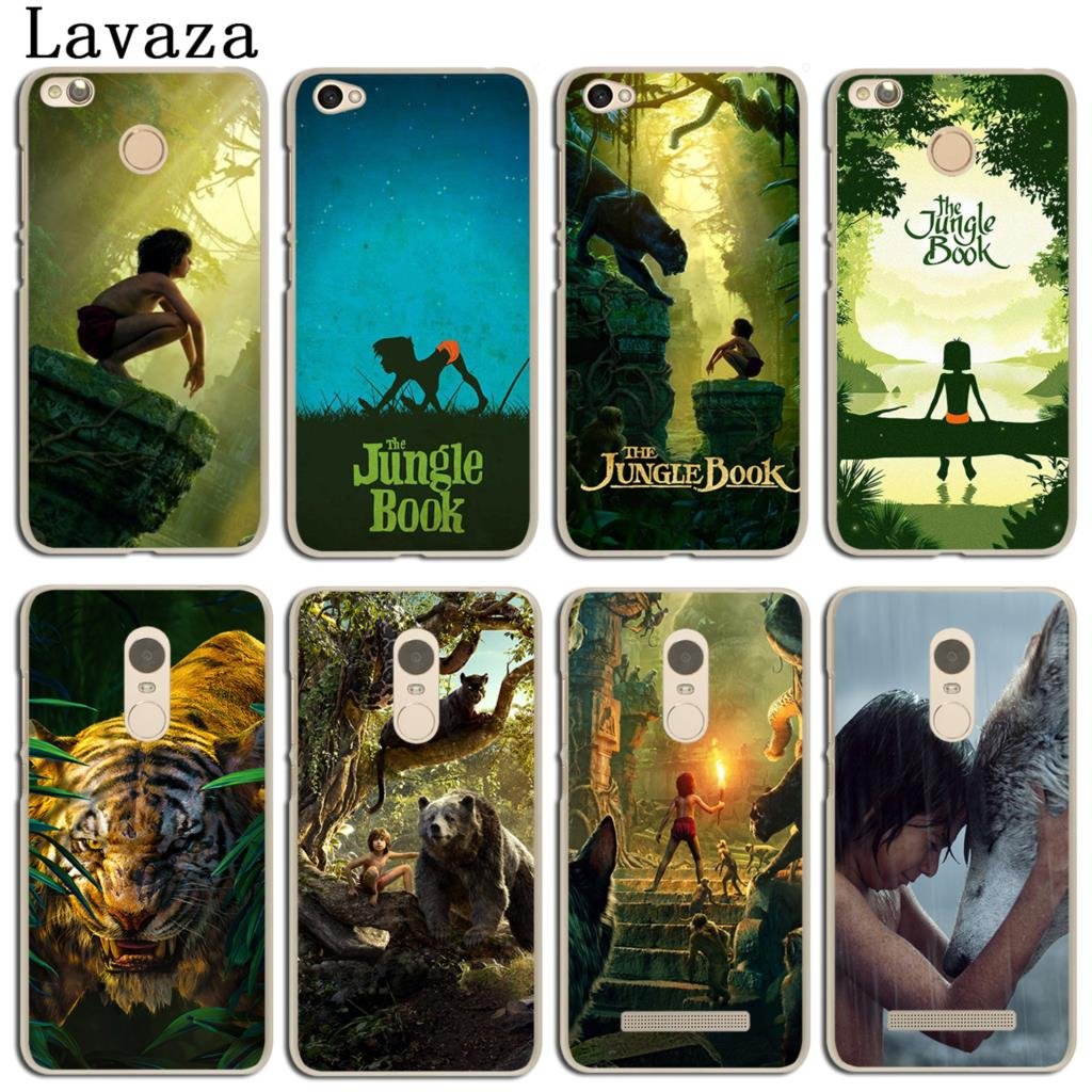 Lavaza The Jungle Book Phone Cover Case for Xiaomi Redmi 4X Mi A1 6 5 5X 5S Plus Note 2 3 3S 4 4X 4A 5A Pro Prime Mi6 MiA1 Mi5