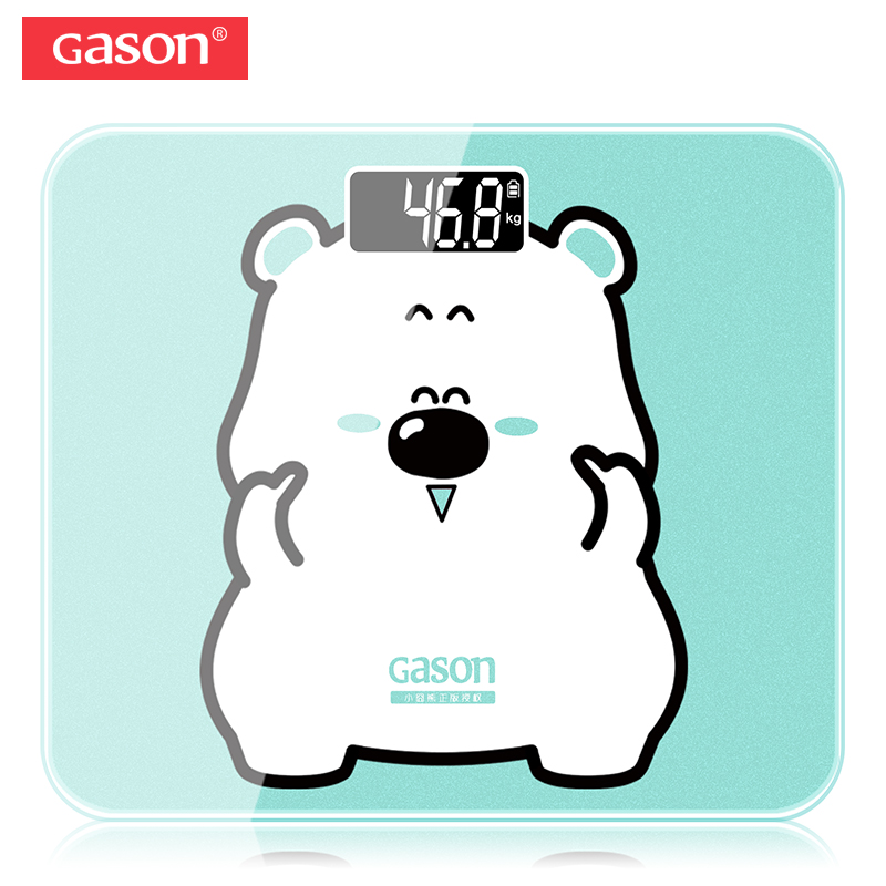 GASON A3s USB Charging Body Bathroom Scales LCD Digital Display Weight Floor Accurate Electronic Smart Balance Household 180KG