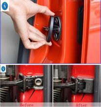 Yimaautotrims Auto Accessory Inner Car Door Stop Rust Waterproof Lock Protector Cover Kit For Volkswagen VW