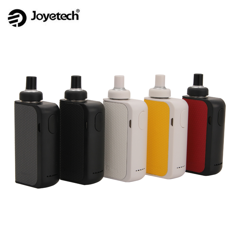 Original Joyetech eGo Aio Box Mod Kit 2100 mah Batterie Box mit 2 ml Kapazität Zerstäuber Tank verwenden BF SS316 0.6ohm MTL Core eGo Aio