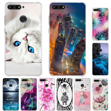 For on Honor 7A 5.7 inch Case TPU Cover For on Honor 7A Pro Case Protective For Huawei Y6 2018 Y6 Prime 2018 Enjoy 8e Phone Case все цены