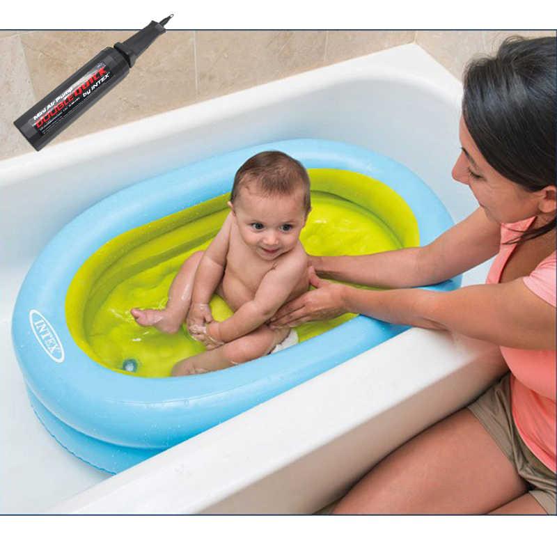 Надувная ПВХ летняя детская водная игра плавающая лодка с ручным насосом Детская ванна для купания детская пляжная плавучая игрушка для бассейна ряд Ванна