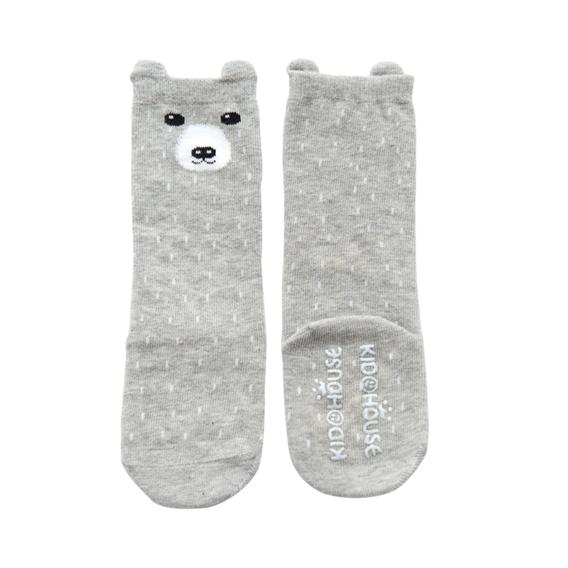 Accessories  Cotton Cute With Ears Baby Anti-Slip Socks Knee High