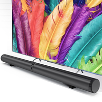 Three Placement Modes Black Speakers Bluetooth Speaker Home Theater Stereo Surround Sound Bar SoundBox 100 240V