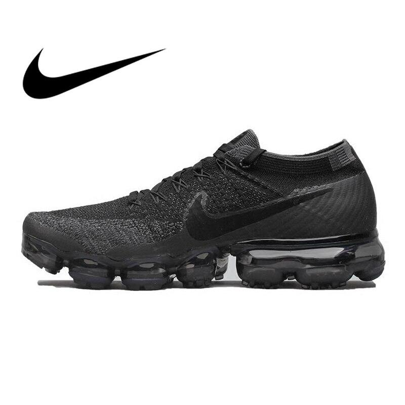 Ufficiale originale Nike Air VaporMax Essere Vero Flyknit Traspirante Runningg Scarpe per Gli Uomini di Sport All'aria Aperta Low Top Confortevole Scarpa Da Tennis