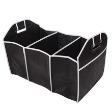 Auto Accessories Car Organizer Black Trunk Collapsible Toys Food Storage Truck Cargo Container Bags Box Car