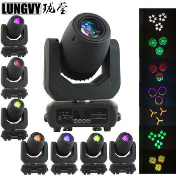 Il trasporto Libero 8 pz/lotto 150 W Gobo Illuminazione Spot 150 W Moving Head Light Per Eventi di Partito DJ Attrezzature