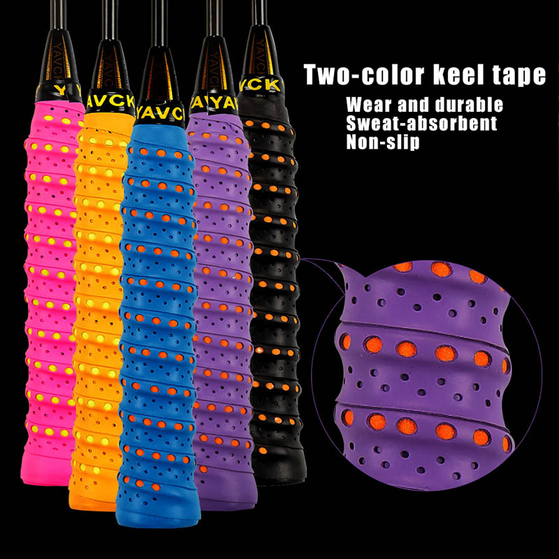 3 Pcs Anti-slip Tennis Overgrip Badminton Grip Sweatband Tape Windings For Fishing Rod FK88