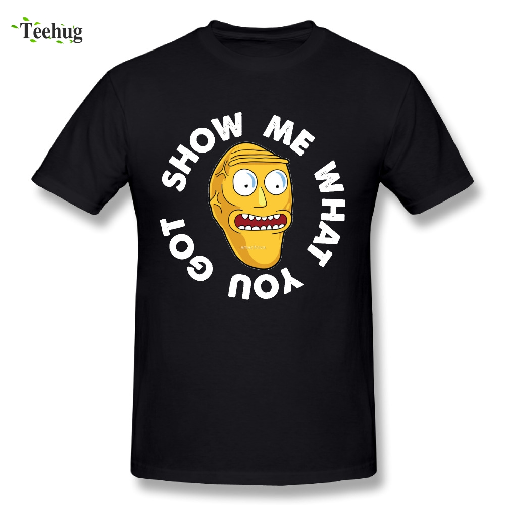 Casual Boy Show Me What You Got T-Shirt Great Design Rick And Morty T Shirts