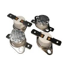 100PCS Ceramics Thermostat KSD302/KSD301 160C 165C 170C 175C 180C 185 190C 195 200C 210C 220C 230C 240C degree 10A Normal Close