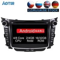Android 8.1 8.0 Car dvd player for Hyundai I30 Elantra GT 2012 2013 2014 2015 2016 Car Radio gps navigation stereo multimedia
