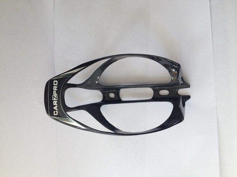 Carzpro клетки углерода idio бутылки клетки флягодержатель 21 г велосипед Запчасти portabidones carbono - Цвет: Черный